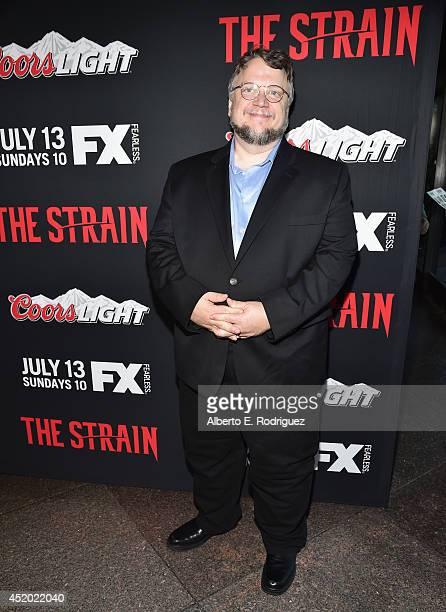 Executive producer Guillermo del Toro attends the premiere of FX's 'The Strain' at DGA Theater on July 10 2014 in Los Angeles California