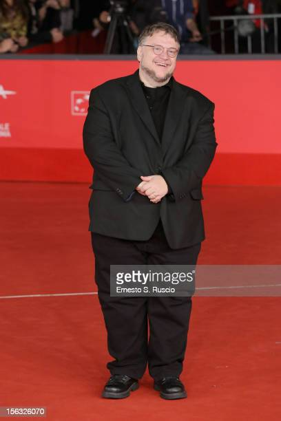 Executive producer Guillermo del Toro attends the 'Rise Of The Guardians' Premiere during the 7th Rome Film Festival at Auditorium Parco Della Musica...
