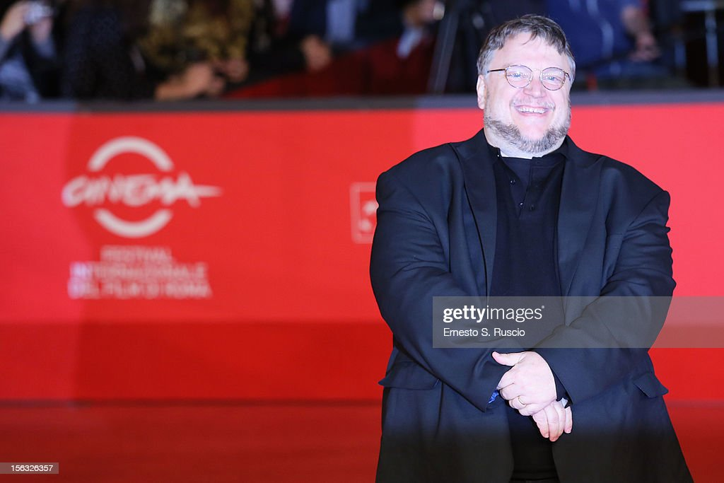 Executive producer <a gi-track='captionPersonalityLinkClicked' href=/galleries/search?phrase=Guillermo+del+Toro&family=editorial&specificpeople=609181 ng-click='$event.stopPropagation()'>Guillermo del Toro</a> attends the 'Rise Of The Guardians' Premiere during the 7th Rome Film Festival at Auditorium Parco Della Musica on November 13, 2012 in Rome, Italy.
