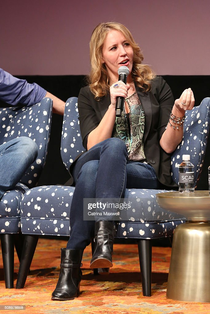 Executive Producer Ildy Modrovich speaks at 'Lucifer' event during aTVfest 2016 presented by SCAD on February 7, 2016 in Atlanta, Georgia.