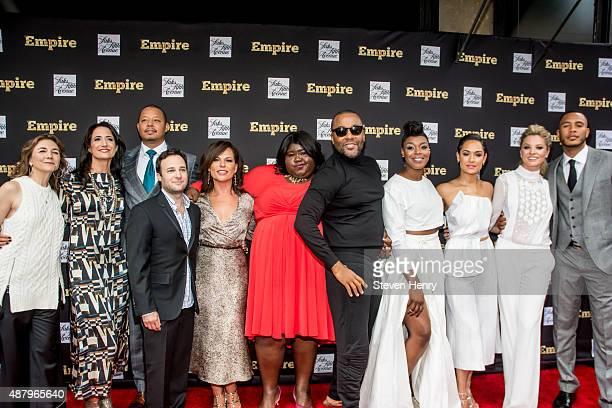 Executive producer Ilene Chaiken executive producer Francie Calfo actor Terrence Howard Executive Producer Danny Strong executive producer Sanaa...