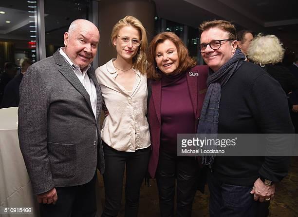 Executive Producer Jack O'Brien and actors Mamie Gummer Marsha Mason and Nathan Lane attend the HBO screening of 'Becoming Mike Nichols' at HBO...