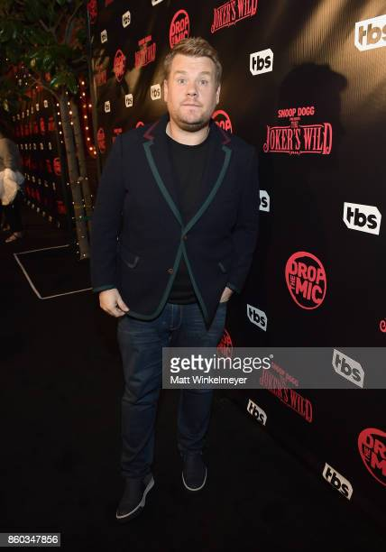 Executive producer James Corden at TBS' Drop the Mic and The Joker's Wild Premiere Party at Dream Hotel on October 11 2017 in Hollywood California...