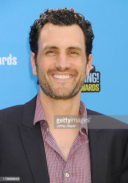 Executive Producer James LaRosa arrives at the DoSomethingorg and VH1's 2013 Do Something Awards at Avalon on July 31 2013 in Hollywood California