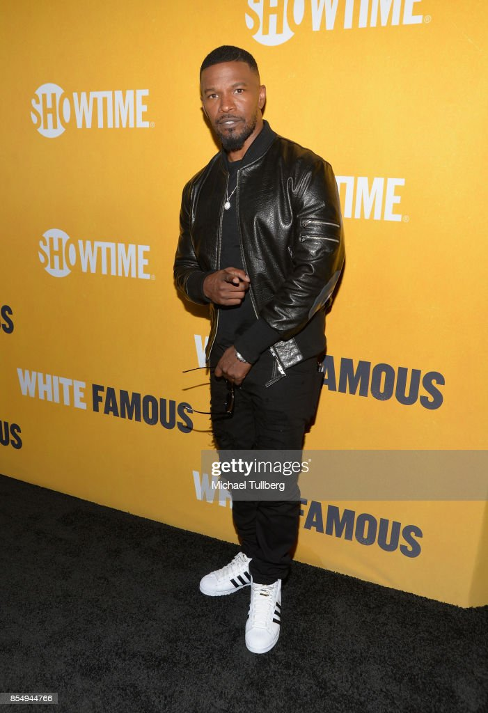 Executive Producer Jamie Foxx attends the premiere of Showtime's 'White Famous' at The Jeremy Hotel on September 27, 2017 in West Hollywood, California.