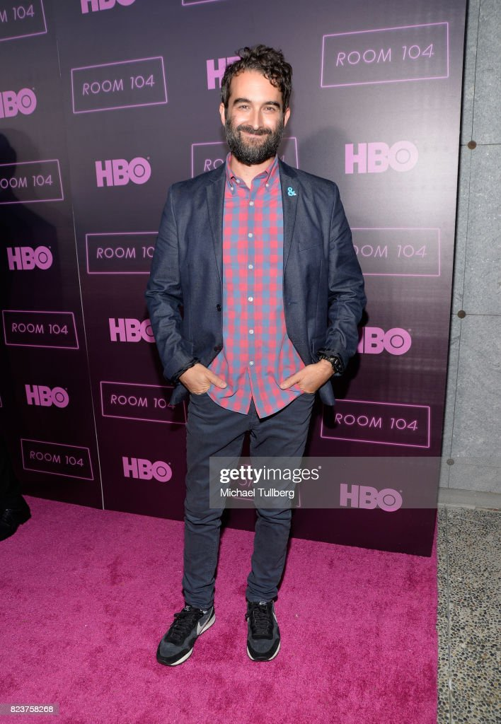 Executive producer Jay Duplass attends the Los Angeles premiere for HBO's 'Room 104' at Hollywood Forever on July 27, 2017 in Hollywood, California.