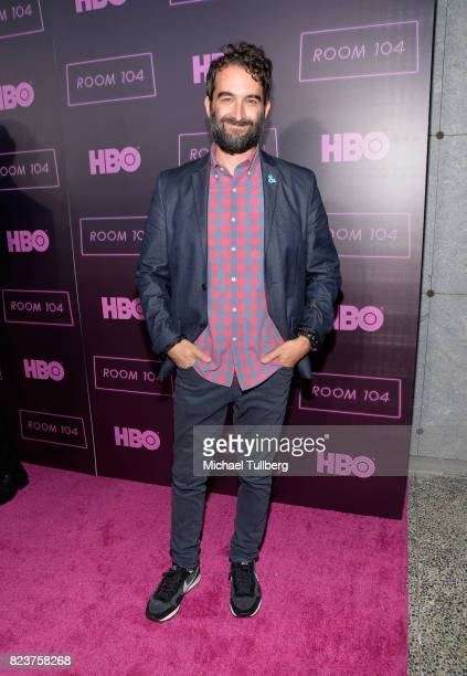 Executive producer Jay Duplass attends the Los Angeles premiere for HBO's 'Room 104' at Hollywood Forever on July 27 2017 in Hollywood California