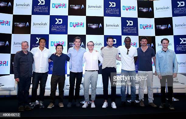 Executive Producer Jeffrey Chernov Writer Douglas Jung Director and Producer Justin Lin Chris Pine Writer and Actor Simon Pegg Zachary Quinto Idris...