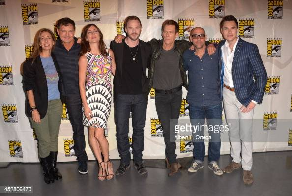 Executive producer Jennifer Johnson show creator Kevin Williamson actors Jessica Stroup Shawn Ashmore Kevin Bacon director Marcos Siega and actor Sam...