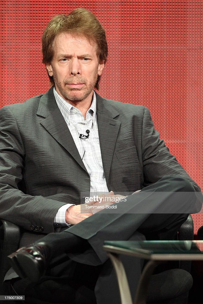 Executive producer Jerry Bruckheimer of the TV show 'Hostages' attends the Television Critic Association's Summer Press Tour - CBS/CW/Showtime panels held at The Beverly Hilton Hotel on July 29, 2013 in Beverly Hills, California.
