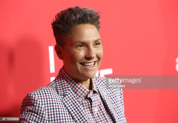 Executive producer Jill Soloway attends the premiere of Amazon's 'I Love Dick' held at the Linwood Dunn Theater on April 20 2017 in Los Angeles...