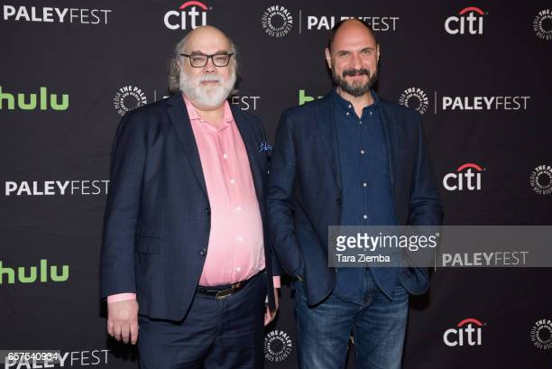 Executive producer Jim Dauterive and series creator Loren Bouchard attend The Paley Center for Media's 34th Annual PaleyFest Los Angeles presentation...