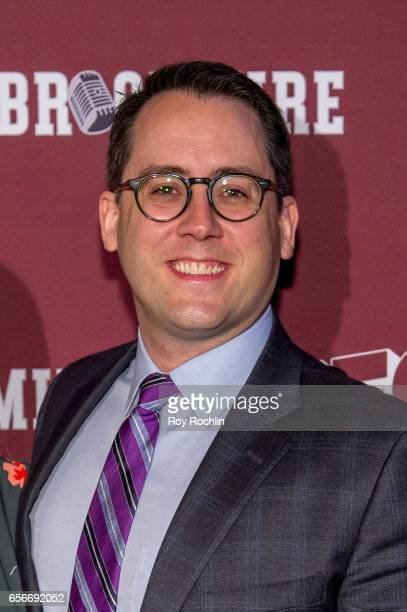 Executive producer Joe Farrell attends the 'Brockmire' red carpet event at 40 / 40 Club on March 22 2017 in New York City