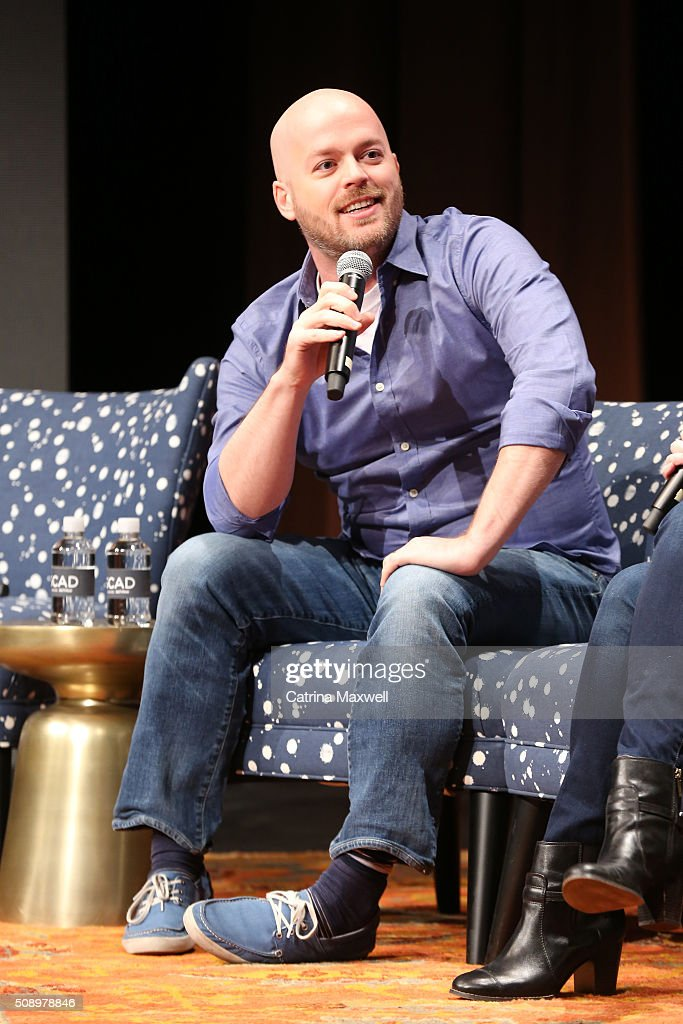 Executive Producer Joe Henderson speaks at 'Lucifer' event during aTVfest 2016 presented by SCAD on February 7, 2016 in Atlanta, Georgia.