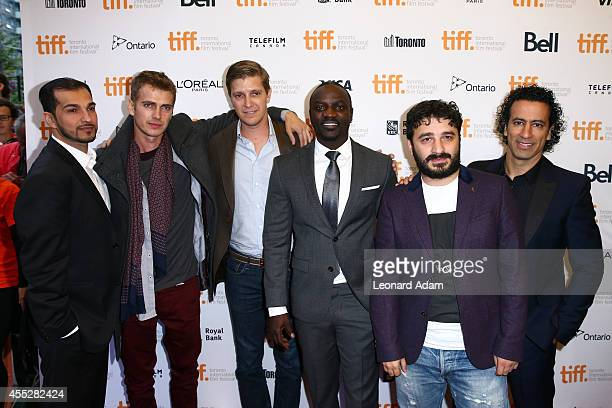 Executive producer JoJo Ryder actor Hayden Christensen producer Tove Christensen actor/recording artist Akon Director/producer Sarik Andreasyan and...