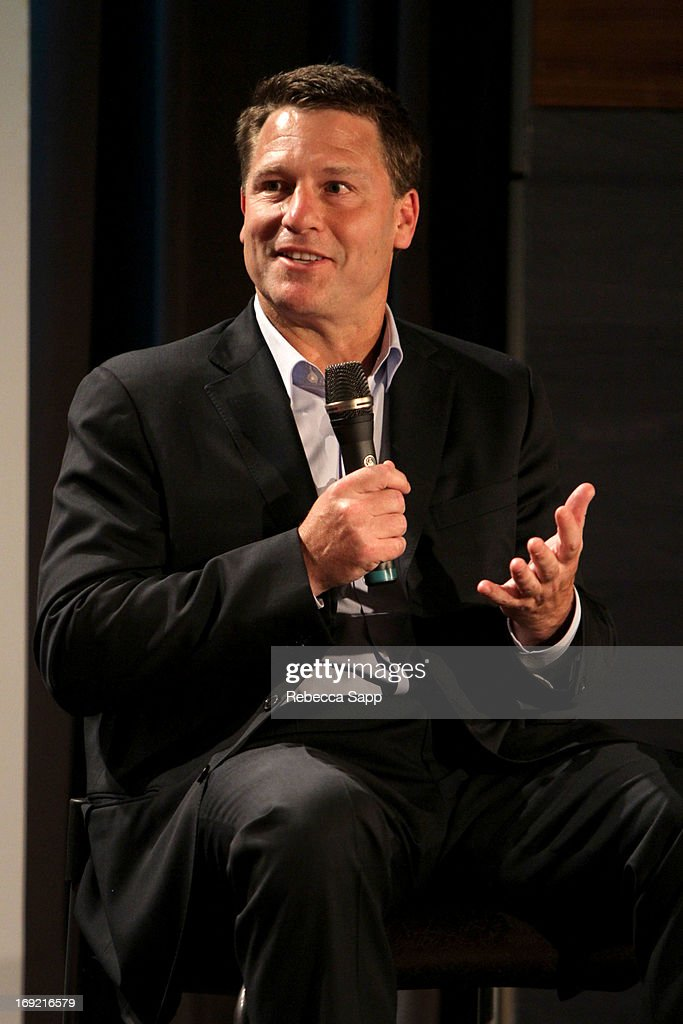 Executive producer <a gi-track='captionPersonalityLinkClicked' href=/galleries/search?phrase=Jonathan+Koch&family=editorial&specificpeople=763097 ng-click='$event.stopPropagation()'>Jonathan Koch</a> speaks onstage at Reel to Reel: Ring of Fire with Jewel at The GRAMMY Museum on May 21, 2013 in Los Angeles, California.