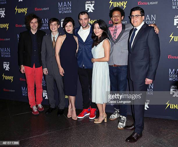 Executive producer Jonathan Krisel writer Simon Rich actors Britt Lower Jay Baruchel Maya Erskine and Eric Andre and President of Broadway Video...