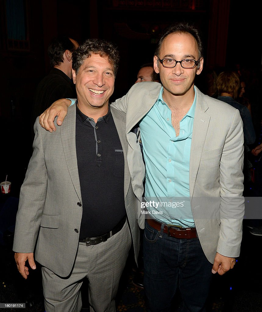 Executive producer Jonathan Stern and Director/actor David Wain attend the 'Childrens Hospital' and 'NTSF:SD:SUV' screening event at the Vista Theatre on September 9, 2013 in Los Angeles, California. 24049_001_MD_0018.JPG