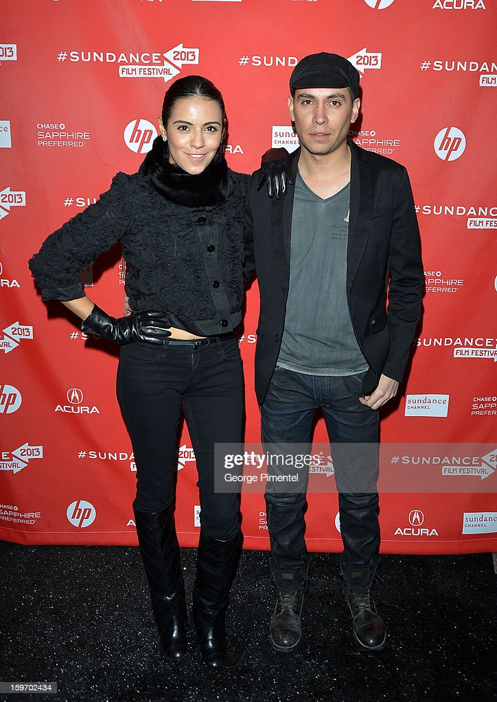 Executive producer Juan Carlos Segura and actress Olga Segura (L) attends the 'Emanuel and The Truth About Fishes' Premiere during the 2013 Sundance Film Festival at Library Center Theater on January 18, 2013 in Park City, Utah.