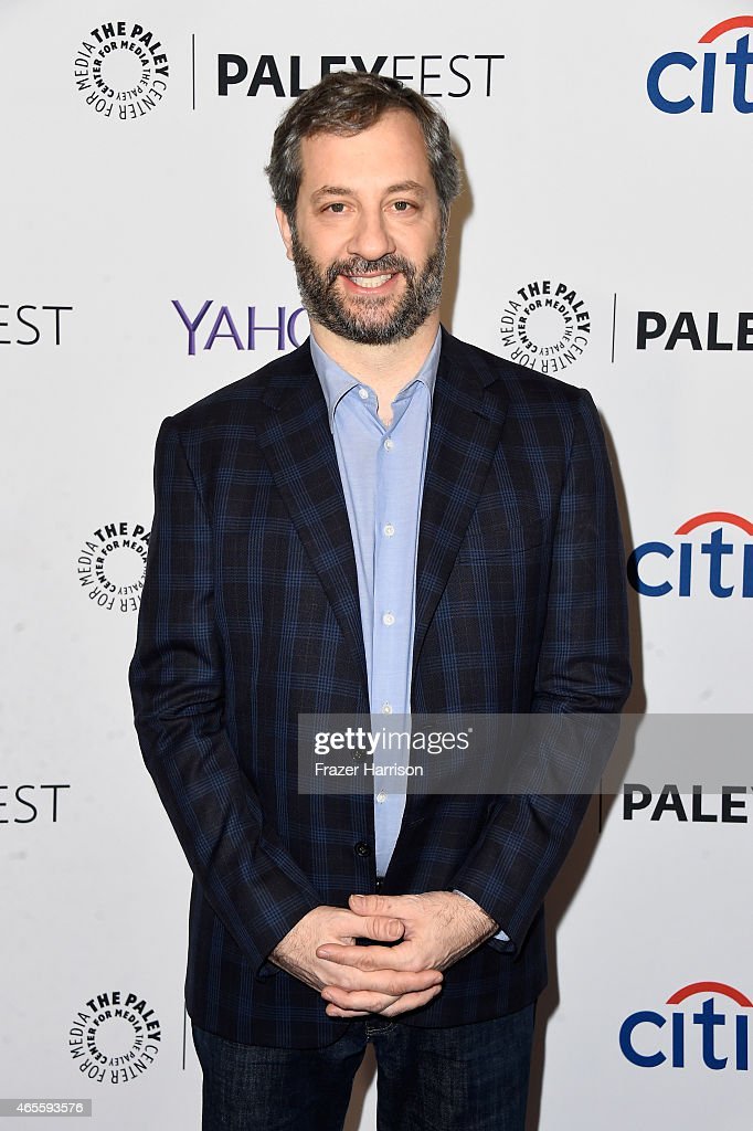 Executive producer Judd Apatow attends The Paley Center For Media's 32nd Annual PALEYFEST LA 'Girls' at Dolby Theatre on March 8 2015 in Hollywood...