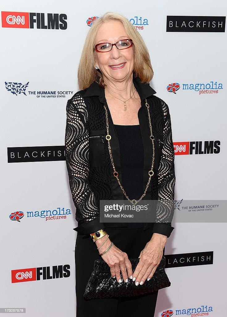 Executive producer Judy Bart arrives at Magnolia Pictures Los Angeles Premiere of 'Blackfish' at ArcLight Cinemas on July 10, 2013 in Hollywood, California.