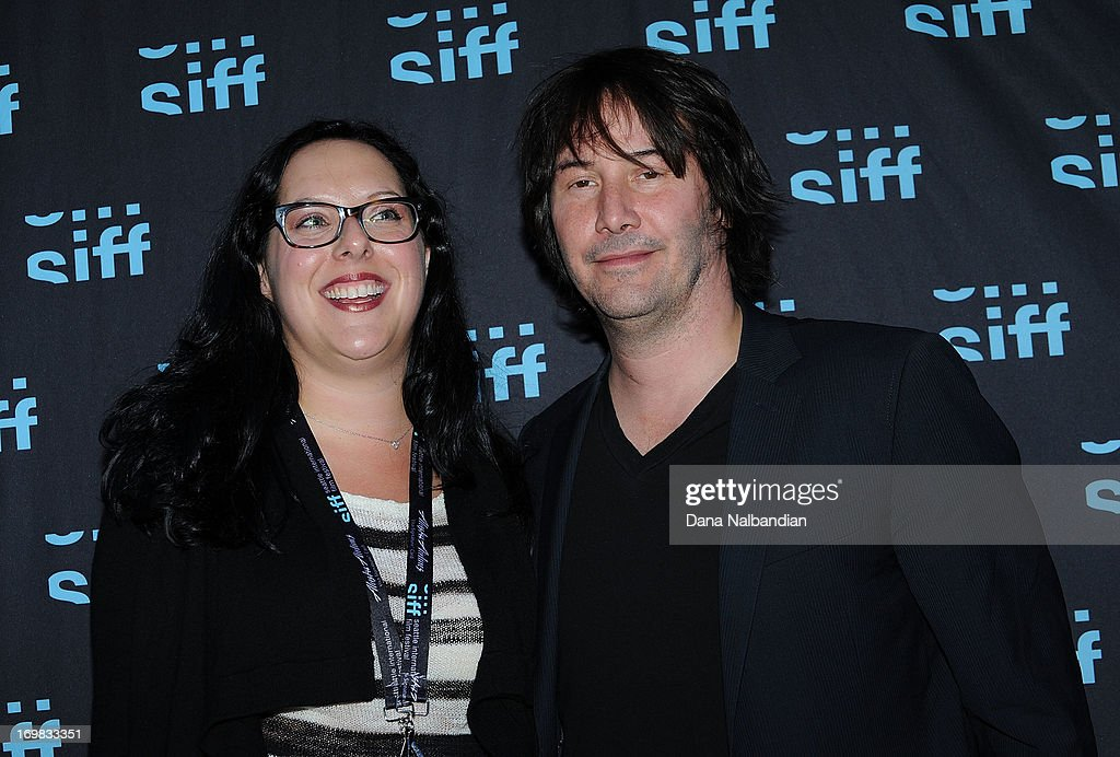 Executive producer Karina Miller and actor Keanu Reeves ...