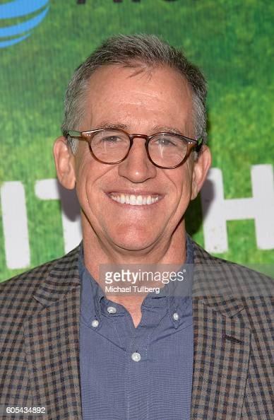 Executive Producer Kevin Falls attends the premiere of Fox's 'Pitch' at West LA Little League Field on September 13 2016 in Los Angeles California