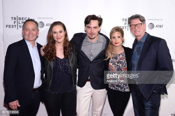 Executive producer Kevin Kay Ashleigh Bell director Adrian Buitenhuis Kate Ledger and director Derik Murray attend the 'I Am Heath Ledger' premiere...