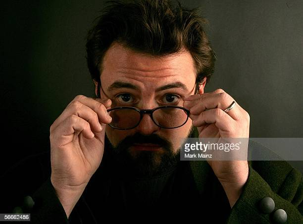 Executive producer Kevin Smith from the film 'small town gay bar' poses for a portrait at the Getty Images Portrait Studio during the 2006 Sundance...