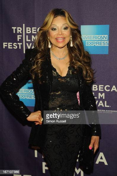 Executive Producer La Toya Jackson attends the 'Dancing In Jaffa' World Premiere at the AMC Loews Village 7 during the 2013 Tribeca Film Festival on...