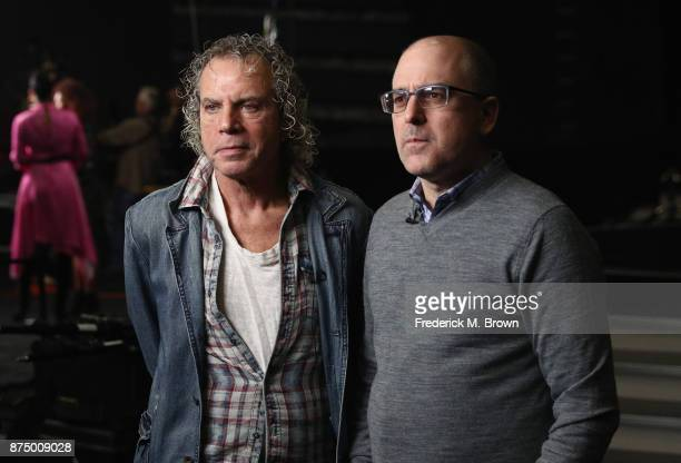 Executive producer Larry Klein and EVP of Programming and Development for Dick Clark Productions Mark Bracco attend the 2017 American Music Awards...