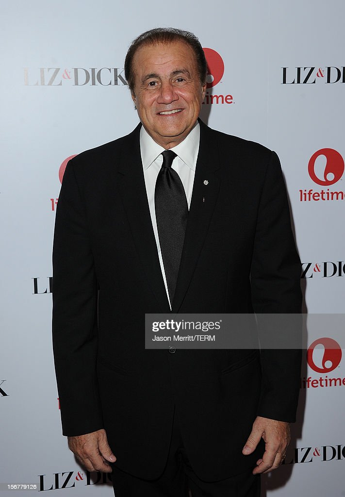 Executive producer Larry Thompson attends the premiere of Lifetime's 'Liz & Dick' at Beverly Hills Hotel on November 20, 2012 in Beverly Hills, California.