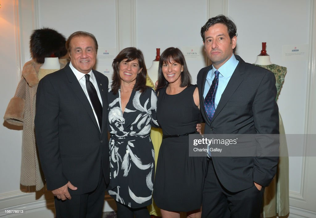 Executive producer Larry Thompson, Lifetime SVP Original Movies Tanya Lopez, Lifetime VP Original Movies Nancy Bennett, and Lifetime EVP Programming Rob Sharenow attend a private dinner for the Lifetime premier of 'Liz & Dick' at Beverly Hills Hotel on November 20, 2012 in Beverly Hills, California.