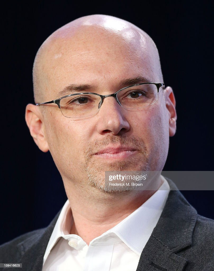 Executive producer Len Goldstein of the television show 'Cult' speaks during the CW Network portion of the 2013 Winter Television Critics Association Press Tour at the Langham Huntington Hotel & Spa on January 13, 2013 in Pasadena, California.