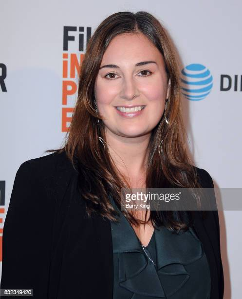 Executive producer Lisa Zambri attends screening of Saban Films and DIRECTV's' 'Shot Caller' at The Theatre at Ace Hotel on August 15 2017 in Los...