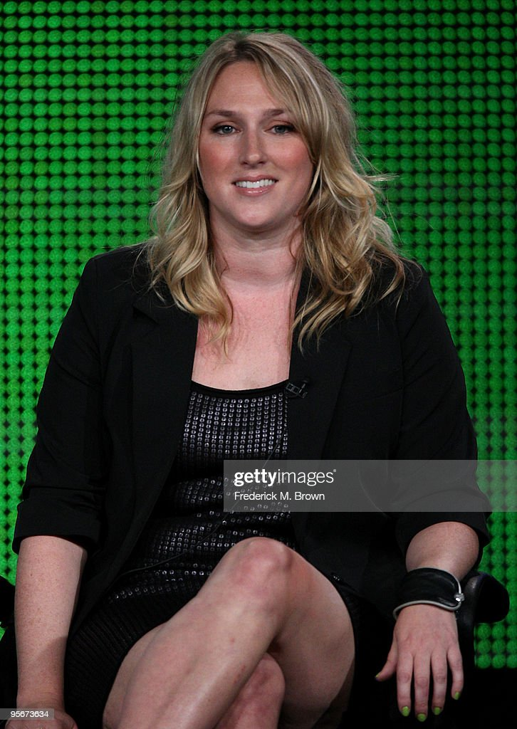 Executive producer Liz Tigelaar speaks onstage at the Showtime 'Life Unexpected' Q&A portion of the 2010 Winter TCA Tour day 1 at the Langham Hotel on January 9, 2010 in Pasadena, California.