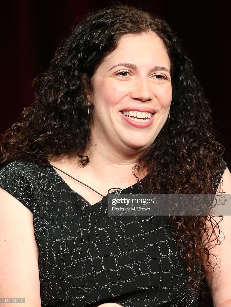Executive Producer Maggie Friedman speaks onstage during the 'Witches of East End' panel discussion at the Lifetime portion of the 2013 Summer Television Critics Association tour - Day 3 at the Beverly Hilton Hotel on July 26, 2013 in Beverly Hills, California.