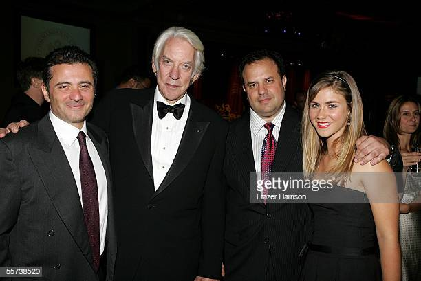 Executive Producer Marc Frydman actor Donald Sutherland Executive Producer Rod Lurie and actress Caitlin Wachs attend the inaugural ball and premiere...