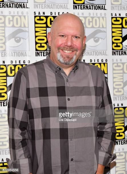 Executive producer Marc Guggenheim at the 'Arrow' Press Line during ComicCon International 2017 at Hilton Bayfront on July 22 2017 in San Diego...