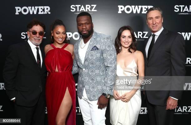 Executive Producer Mark Canton La La Anthony Executive Producer Curtis '50 Cent' Jackson Ana del al Reguera and Starz President of Original...