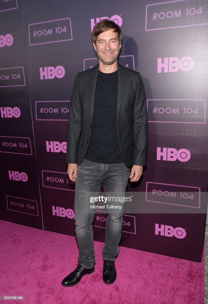 Executive producer Mark Duplass attends the Los Angeles premiere for HBO's 'Room 104' at Hollywood Forever on July 27, 2017 in Hollywood, California.