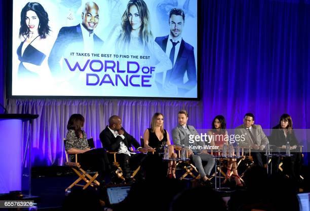Executive producer Matilda Zoltowski Judge NeYo Executive producer/judge Jennifer Lopez Judge Derek Hough Host Jenna Dewan Tatum Executive producers...