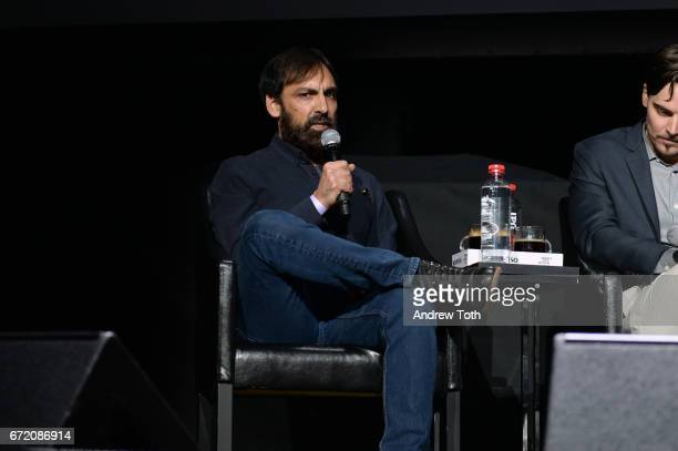 Executive producer Matt Amato attends the 'I Am Heath Ledger' premiere during the 2017 Tribeca Film Festival at Spring Studios on April 23 2017 in...