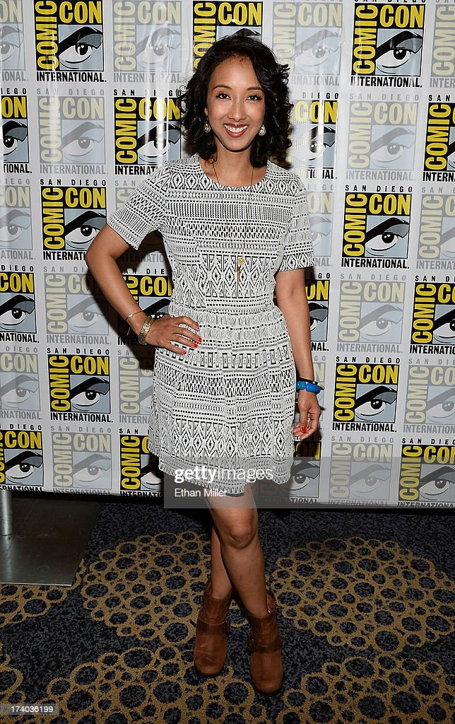 Executive producer Maurissa Tancharoen attends Marvel's 'Agents of S.H.I.E.L.D.' press line during Comic-Con International 2013 at the Hilton San Diego Bayfront Hotel on July 19, 2013 in San Diego, California.
