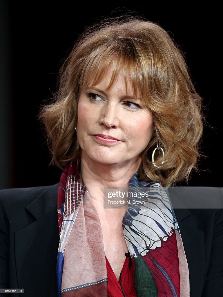 Executive Producer Melissa Rosenberg of 'Red Widow' speaks onstage during the ABC portion of the 2013 Winter TCA Tour at Langham Hotel on January 10, 2013 in Pasadena, California.