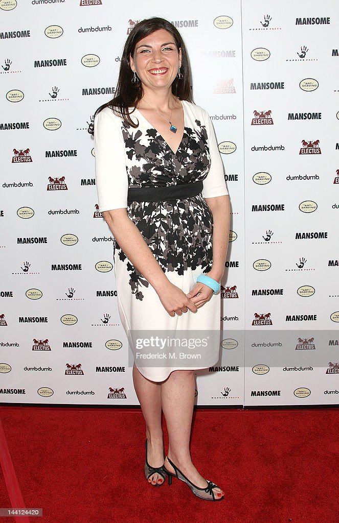 Executive producer Meri Haitkin attends the premiere of Morgan Spurlock's 'Mansome' at the ArcLight Cinemas on May 9, 2012 in Hollywood, California.