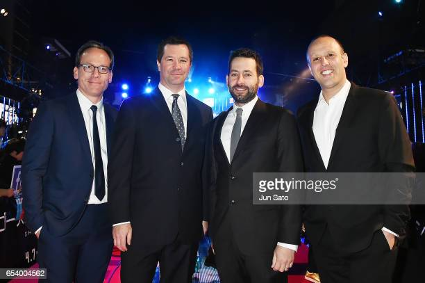 Executive Producer Michael Costigan President and CoCEO of Amblin Partners Jeff Small VP Production of Amblin Partners Andrew Calof and Producer Ari...