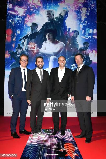 Executive Producer Michael Costigan VP Production of Amblin Partners Andrew Calof Producer Ari Arad and President and CoCEO of Amblin Partners Jeff...