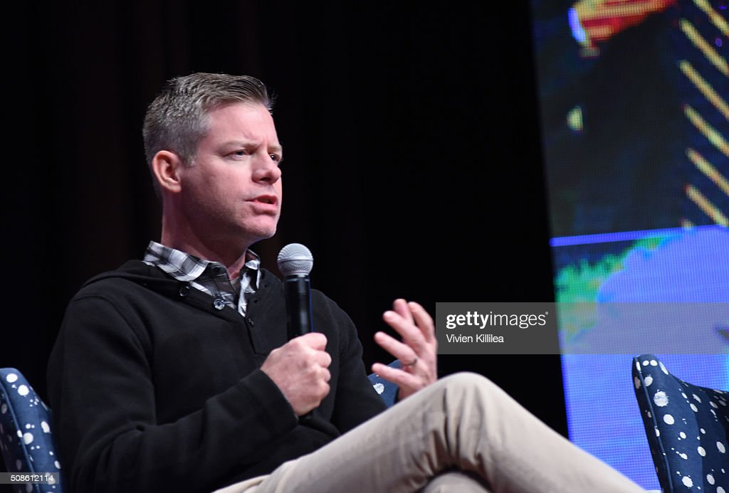 Executive producer Michael McDonald speaks on stage during 'American Crime' event during aTVfest 2016 presented by SCAD on February 5, 2016 in Atlanta, Georgia.