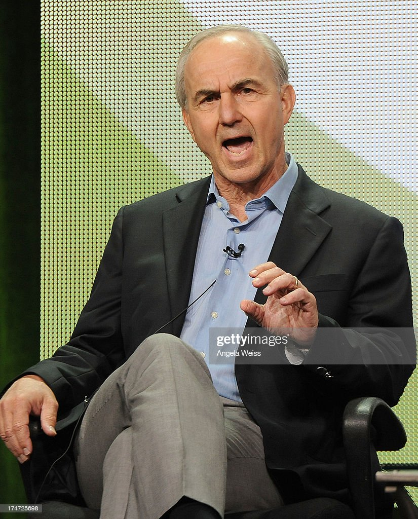 Executive Producer Michael Prupas speaks onstage during 'JFK: The Smoking Gun' panel discussion at the ReelzChannel portion of the 2013 Summer Television Critics Association tour at The Beverly Hilton Hotel on July 28, 2013 in Beverly Hills, California.